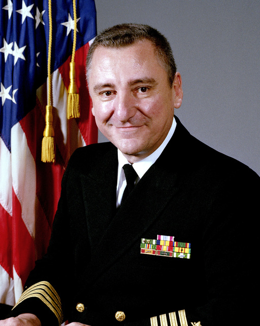 CAPT Allen Wood, USN (uncovered)