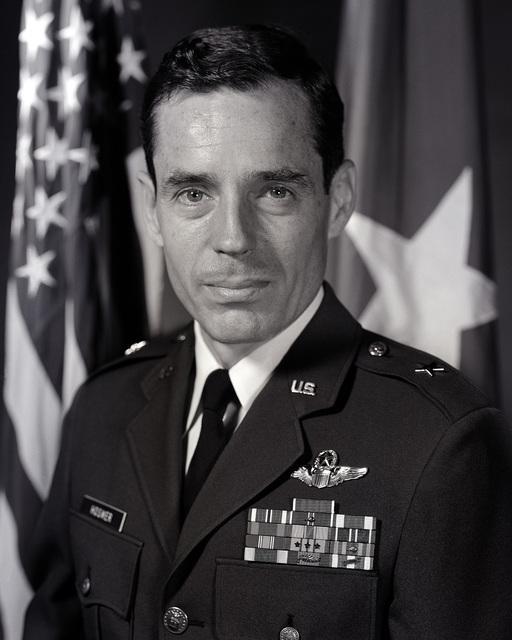 Brigadier General Bradley C. Hosmer, USAF (uncovered)