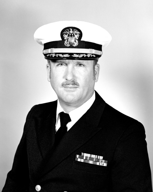 CDR Martin E. Lockard, USN (covered)