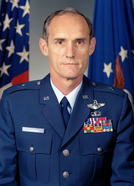 BGEN Merrill A. McPeak, USAF (uncovered)
