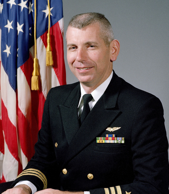 CDR Ronald H. Cummins, USN (uncovered)