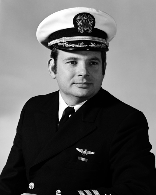 CDR William L. McDowell, USN (covered)