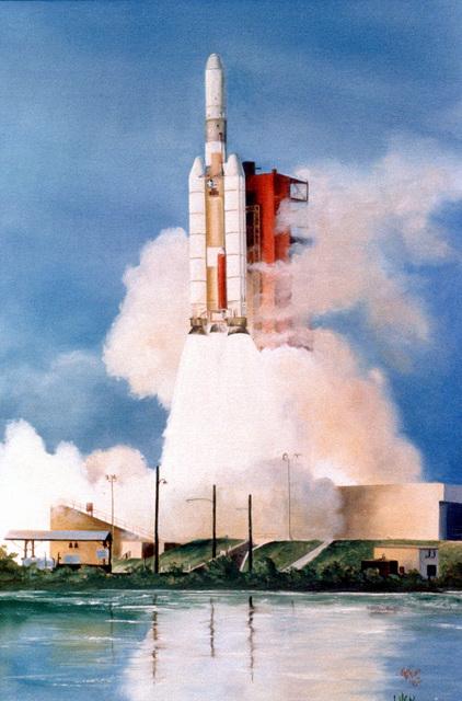 "Artwork: ""Titan II"" Artist: Virginia Ford"