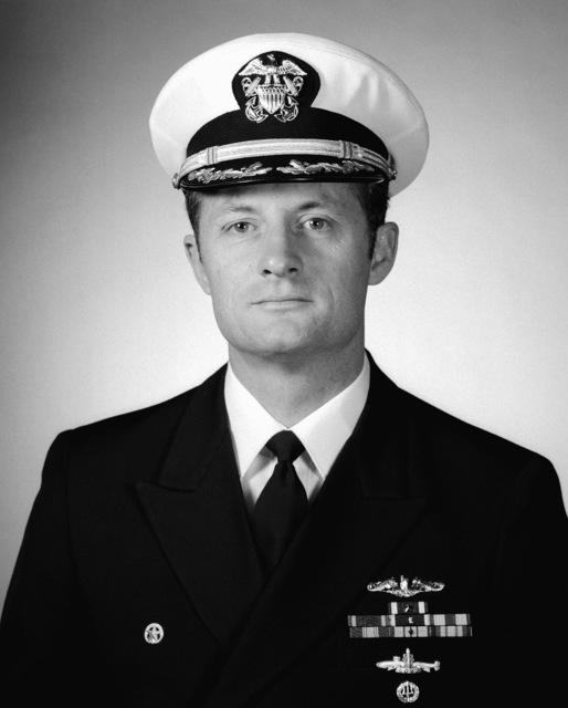 CDR Darrell P. Snyder, USN (covered)