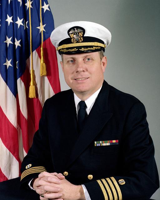 CAPT Thomas C. Watson Jr., USN (covered)