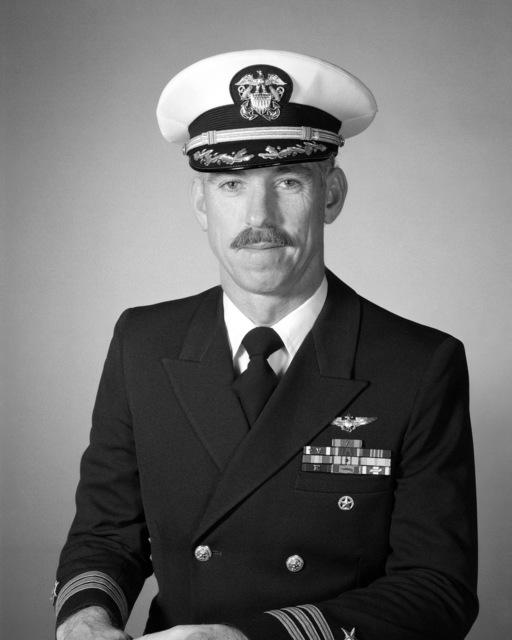 Commander Jones H. Stanley, USNR (covered)