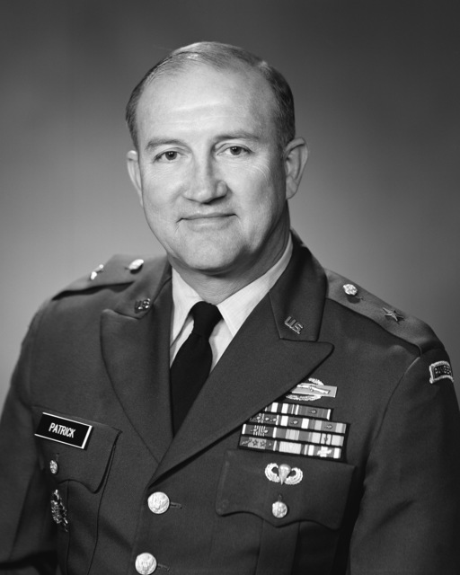 Brigadier General Burton D. Patrick, USA (uncovered)