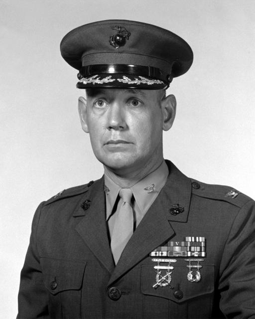 COL Lundie L. Sherretz, USMCR (covered)