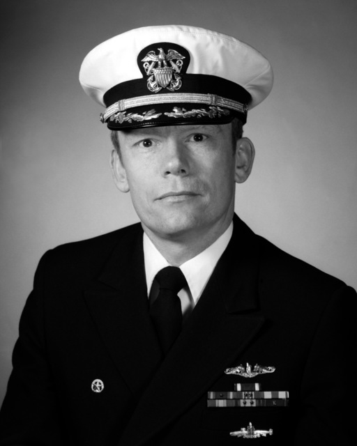 CDR Raymond D. Woolrich, USN (covered)