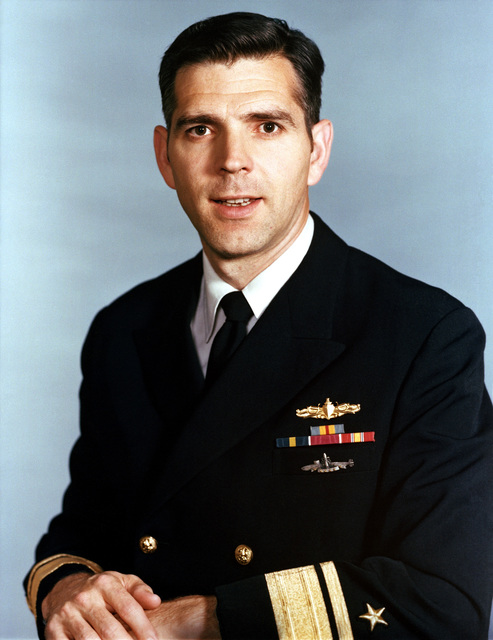 RADM Johnathon T. Howe, USN (uncovered)
