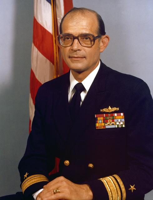 RADM Lawrence Layman, USN (uncovered)
