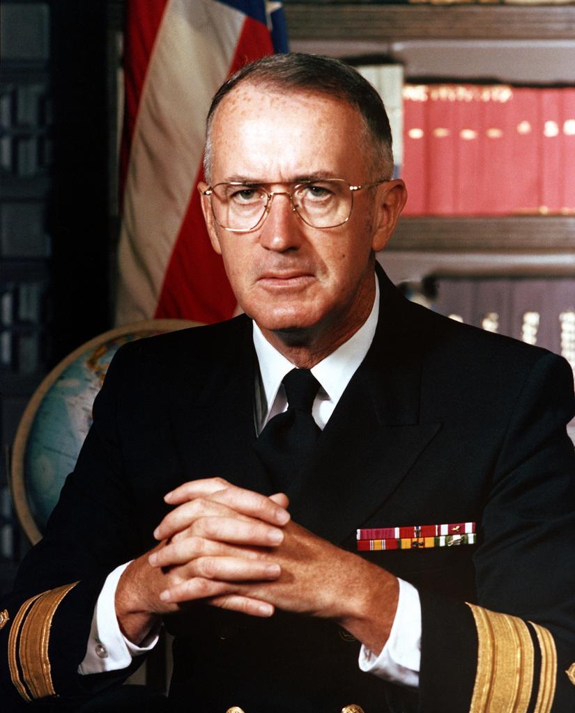 RADM William M. McDermott, USN (uncovered)