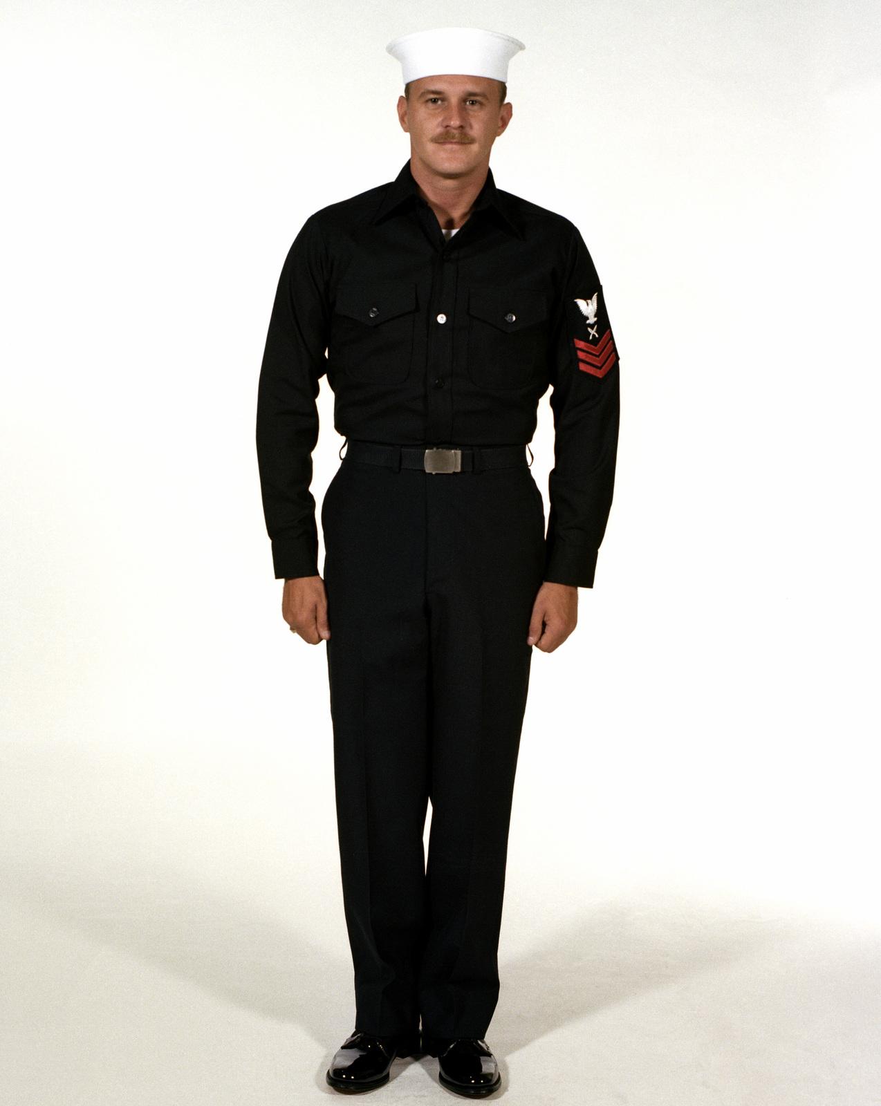 Navy Dress Blues Regulations Enlisted