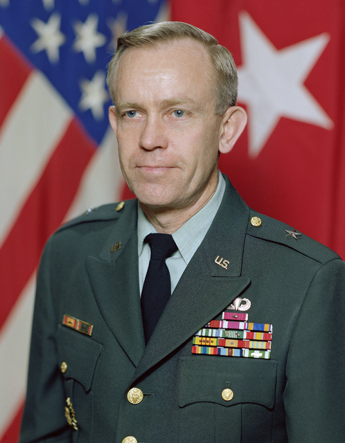 Portrait:  US Army (USA) Brigadier General (BGEN) Jerome B. Hilmes (uncovered)