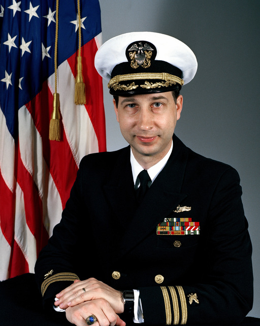 CDR Eric A. Arllen, USN (covered)