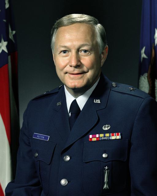BGEN Arthur Hutton, USAF (uncovered)