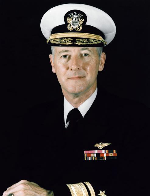 RADM Virgil W. Moore Jr., USN (covered)
