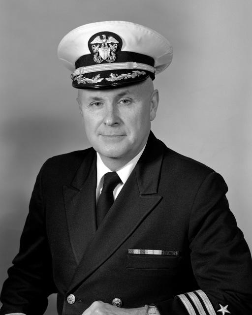 Commander Elwood Lewis Shafer, USN (covered)