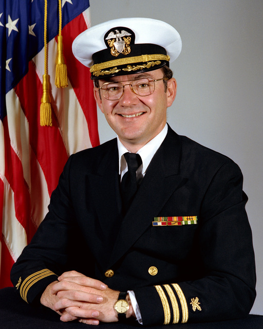 CMDR Eric B. Jones, USN (covered)