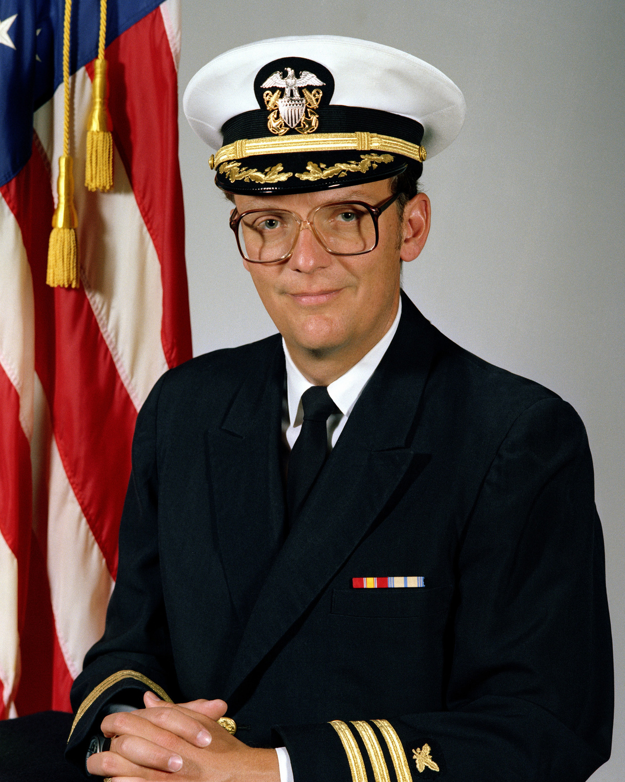 CDR Douglas A. Brooks, USN (covered)