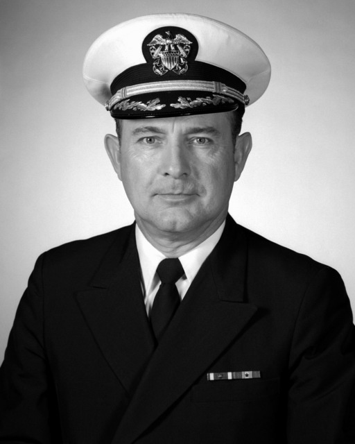 CAPT Charles R. Compton, USN (covered)