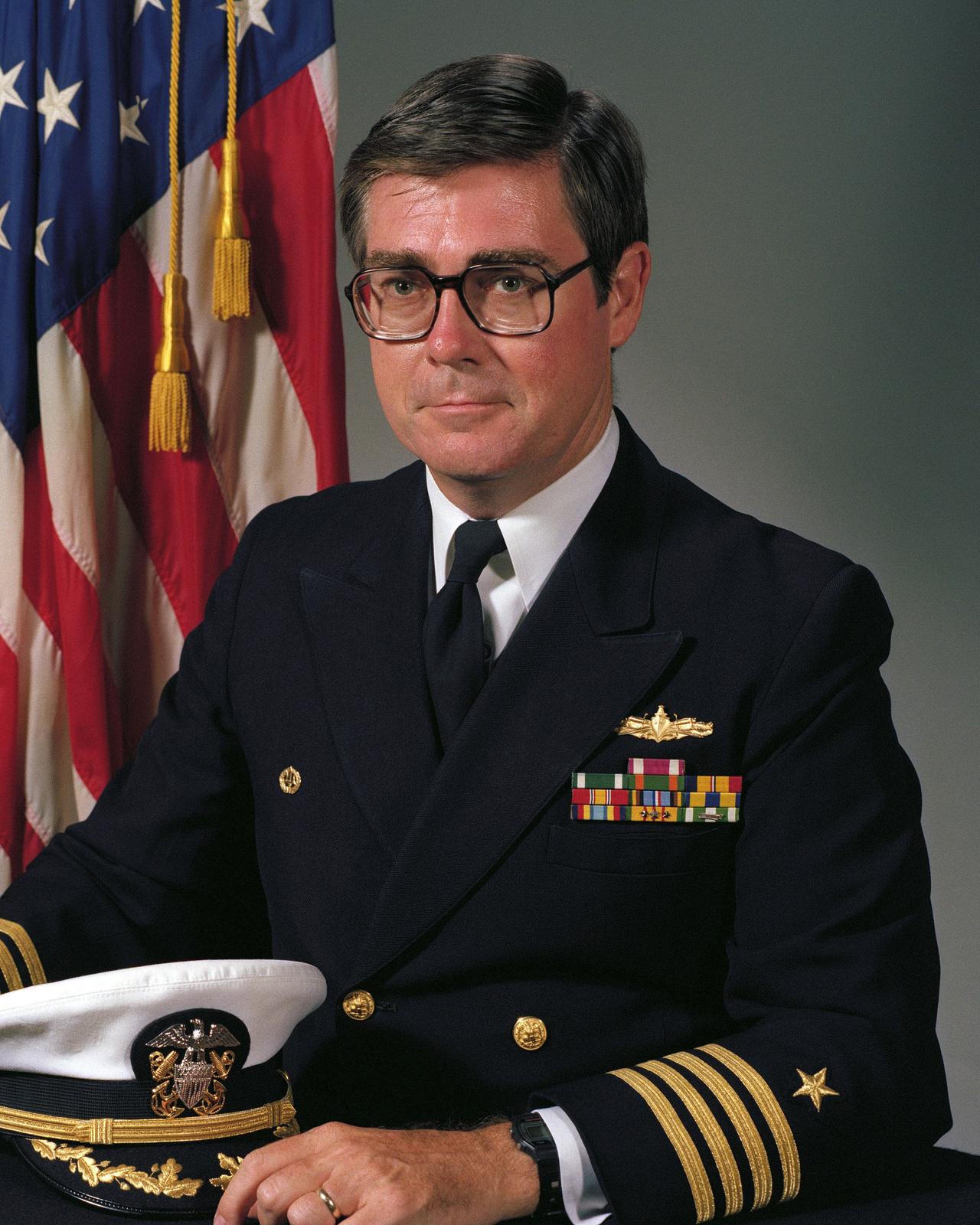 Captain Donald E. Nolan, USN (uncovered)