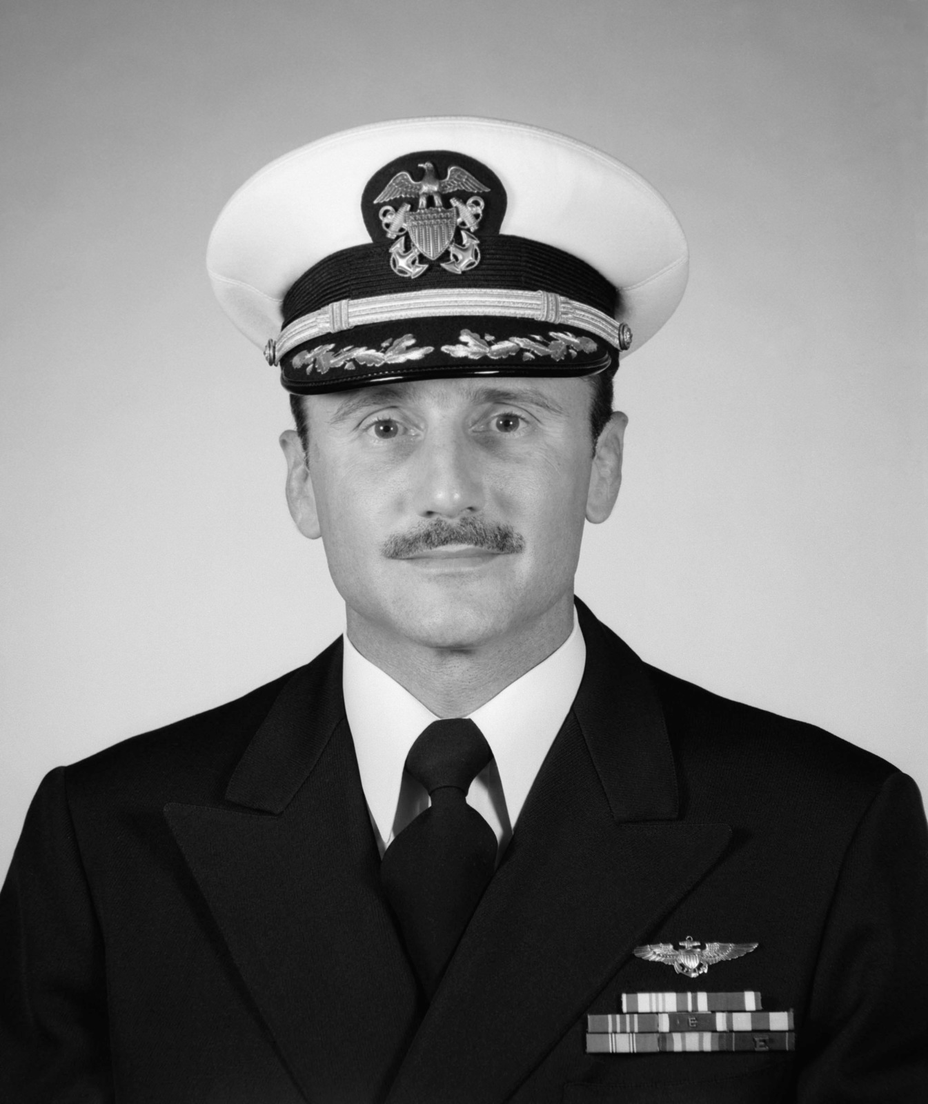 Commander James F. Scurria, USN (covered)