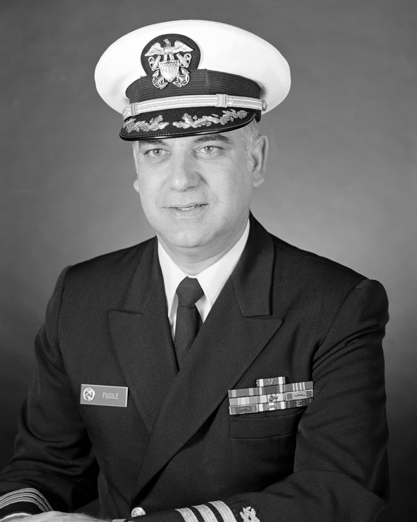 Commander Eugene P. Fucile, USN (covered)