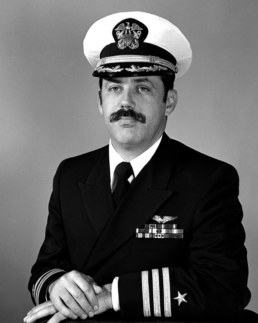 CDR Michael J. Conallen, USN (covered)