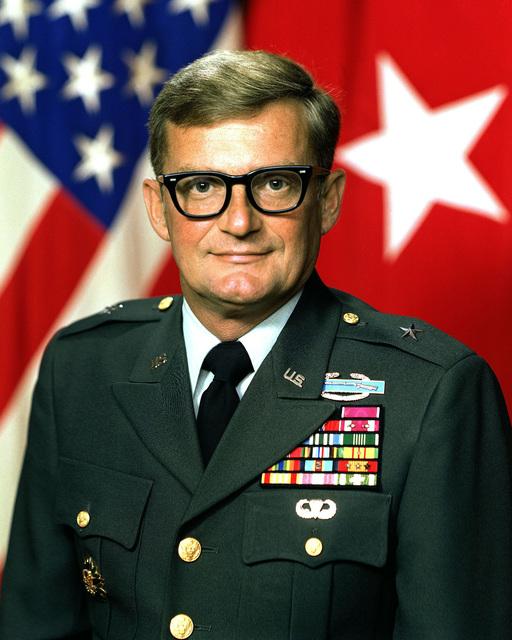 Brigadier General John M. Shalikashvili, USA (uncovered)
