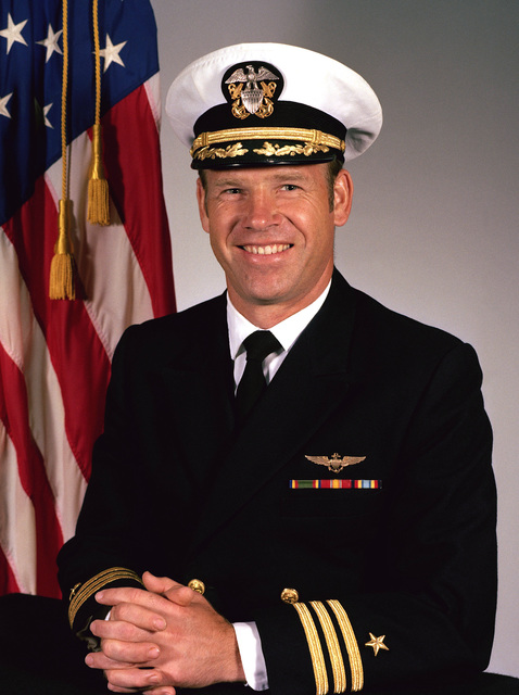 Commander Selden M. Small, USN (covered)