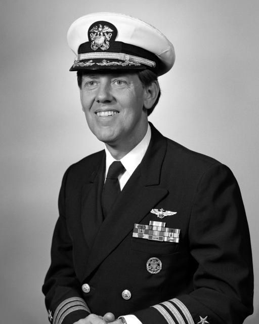 Commander Nils Stephen Sandberg, USN (covered)