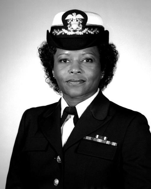 Captain Julie Barnes, USN (covered)
