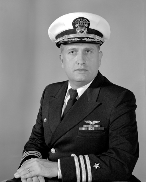 Commander Kenneth R. Guarino, USN (covered)