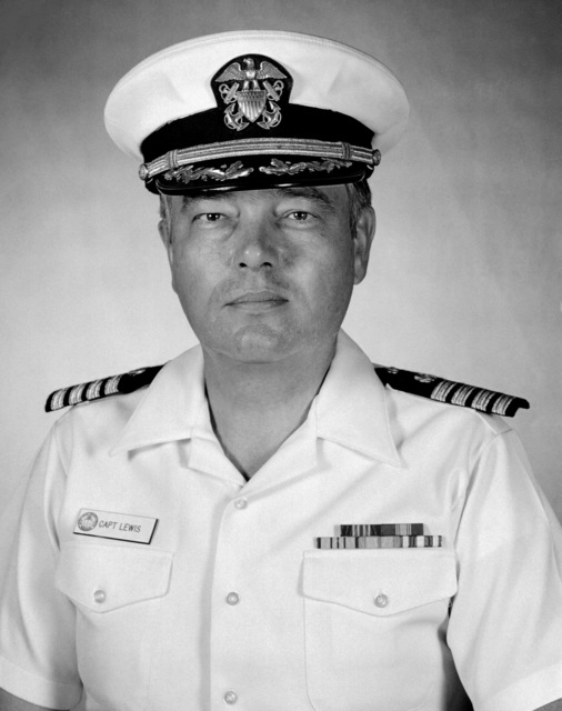 Captain John B. Lewis Jr., USN (covered)