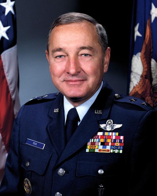 Major General Earl G. Peck, USAF (uncovered)