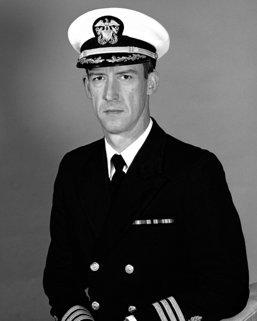 Commander Edward A. Funk, USN (covered)