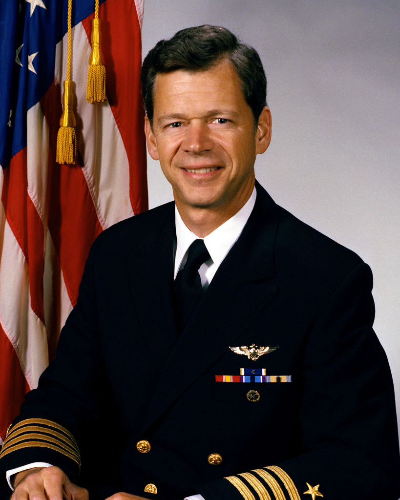 Captain Kenneth J. Fox, USN (uncovered)