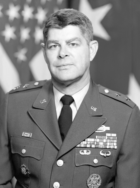 Major General Andrew L. Cooley, USA (uncovered)