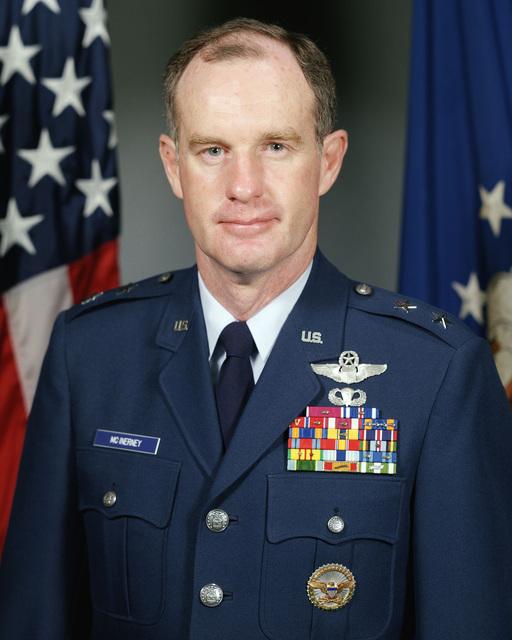 Major General Thomas G. McInerney, USAF (uncovered)
