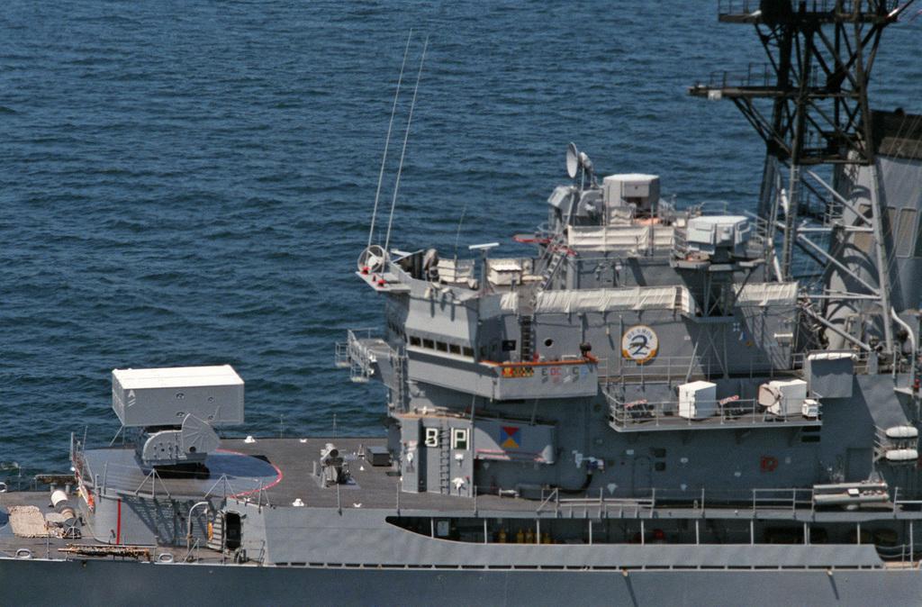 USS King DDG-41 postcard  US Navy ship Guided Missile Destroyer