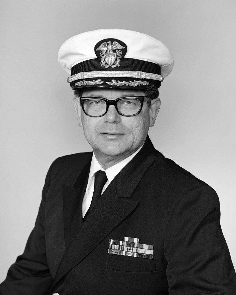 Captain Paul B. Lagueux, USN (covered)