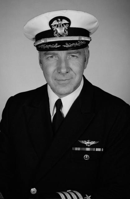 Captain Stanley L. Stevens, USN (covered)