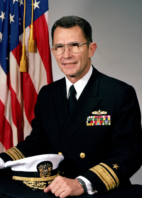 Rear Admiral Peter C. Conrad, USN (uncovered)