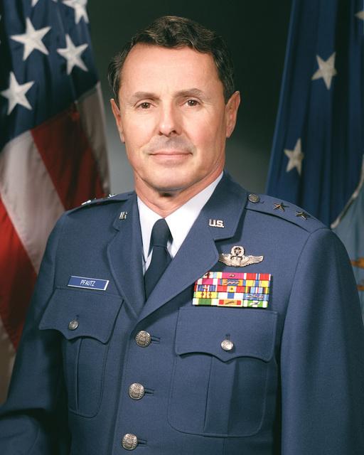 Major General James C. Pfautz, USAF (uncovered)