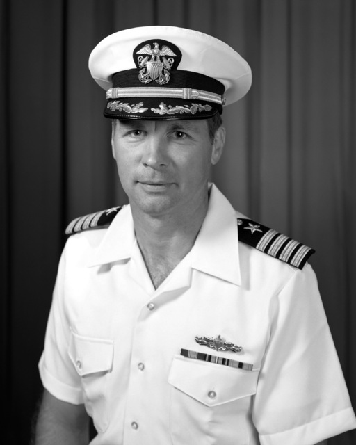Captain Thomas L. Baines, USN (covered)