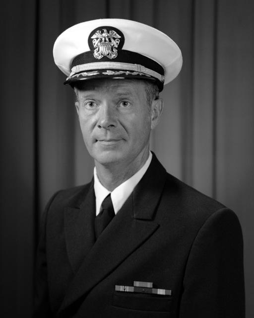 Commander Allen Beck, USN (covered)