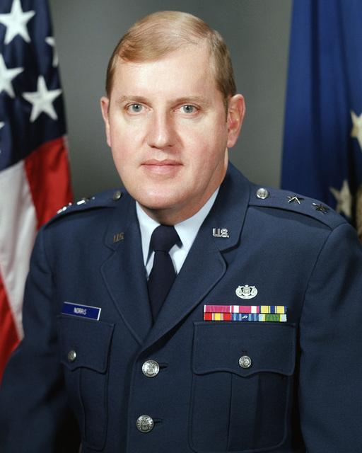 Major General Robert W. Norris, USAF (uncovered)