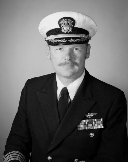 Captain Philip J. Rooney, USN (covered)