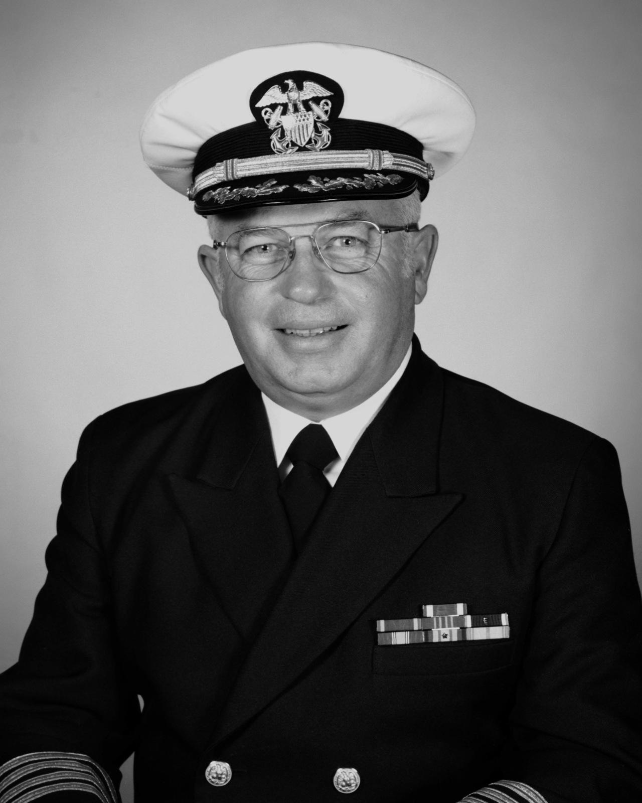 Captain John R. McNeil, USN (covered)